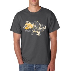 T-shirt with a map of your...